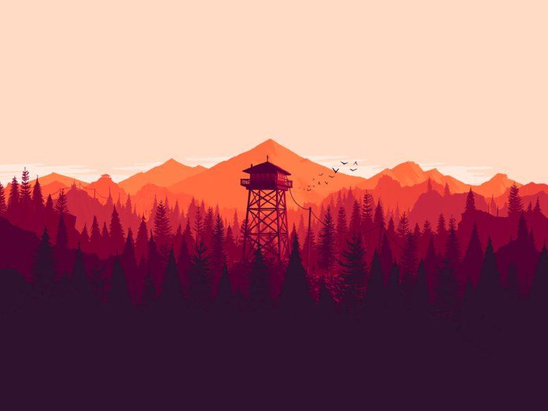 Games We Dig – Firewatch