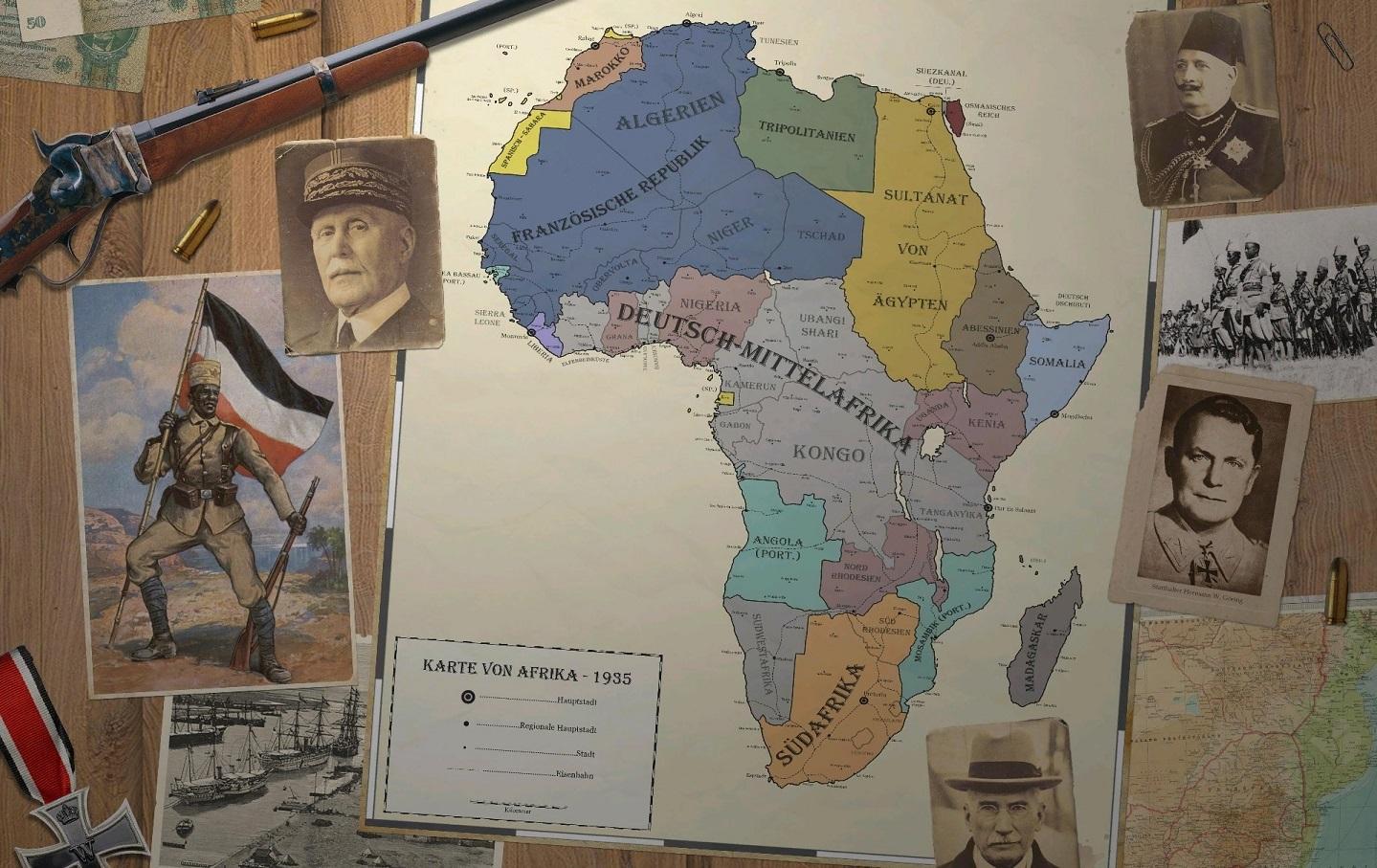 Understanding Alternative Histories: Mittelafrika